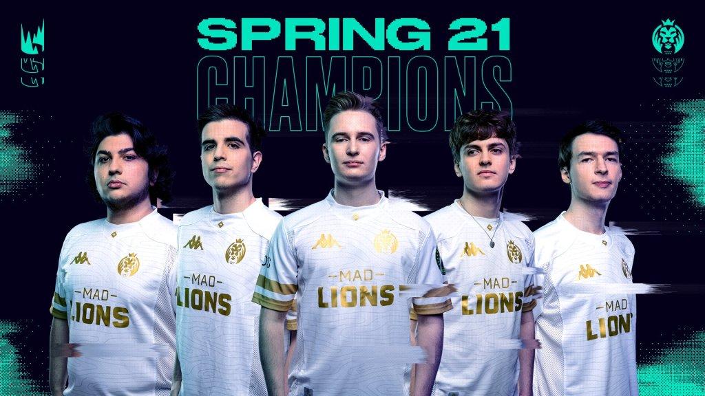 MAD Lions campeón LEC Spring 2021 | Fuente: Twitter