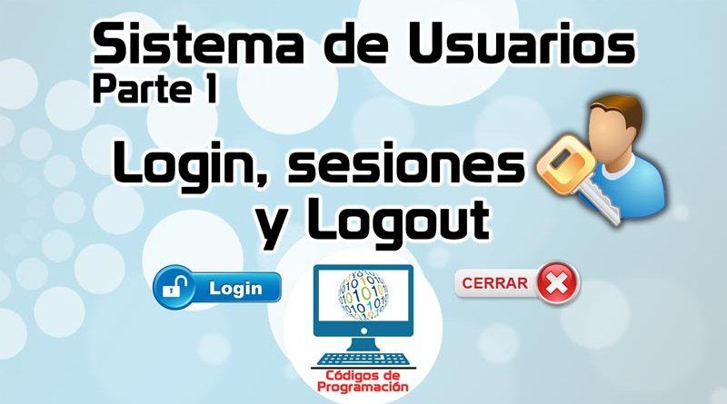 Sistema de usuarios y sesiones en PHP y MySQL 1: Login, sesiones y ...