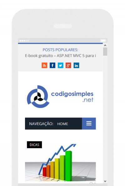 mobile teste codigosimples .net