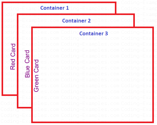 Panel Containers as Cards