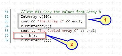 Using Overloaded Subscript Operator to Copy
