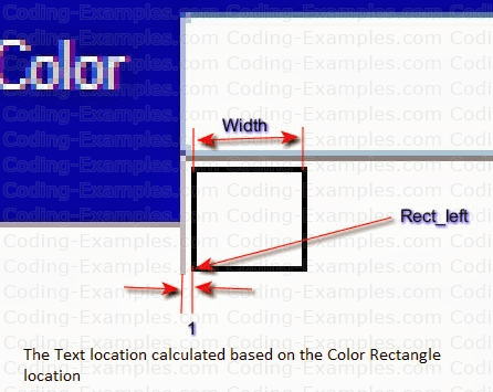 Calculate Text Location After Titles