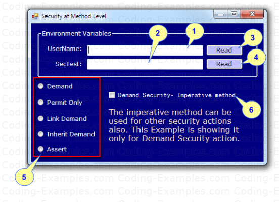 Example - CAS Method Level Security