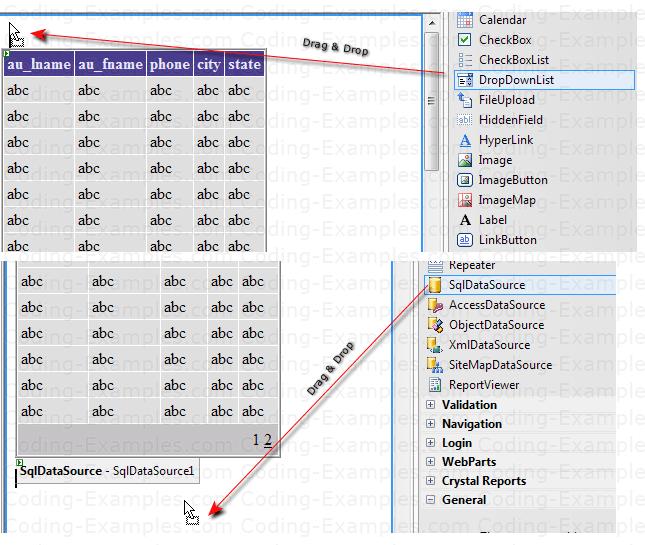 Add DropdownList to Display States