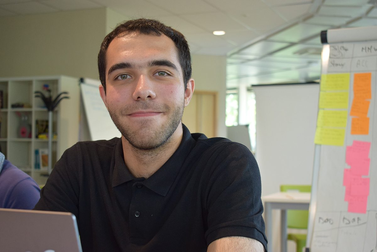 Thomas guillouet, développeur informatique front end, back end en apprentissage
