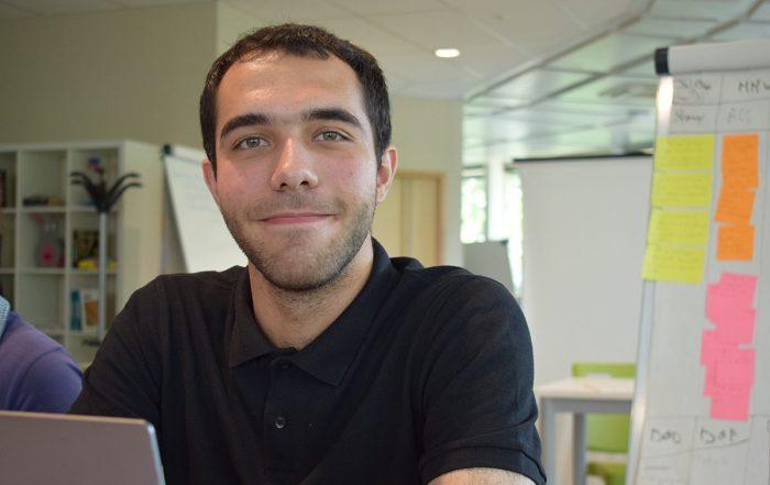 Thomas guillouet, développeur informatique front end, back end en apprentissage