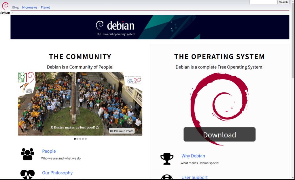 debian11-toppage