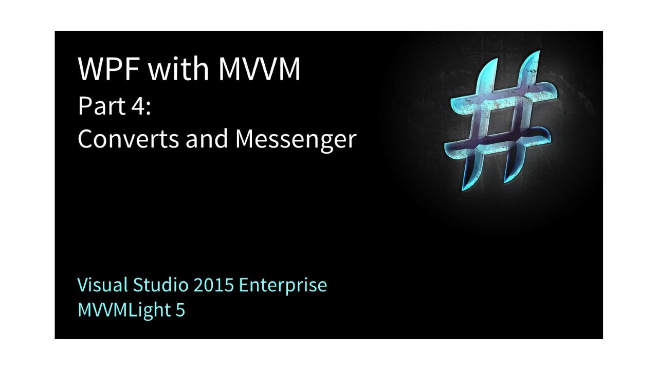 WPF und MVVM richtig einsetzen – Teil 20   codingfreaks