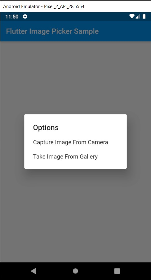 image picker flutter