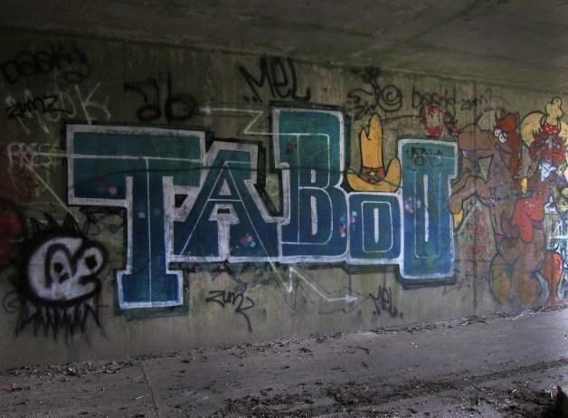 Taboo-graffiti
