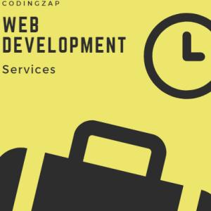 Web development services at codingzap