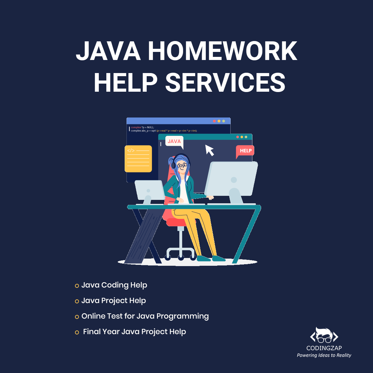 Java Homework Help Services