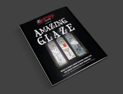 amazing glaze brochure mockup