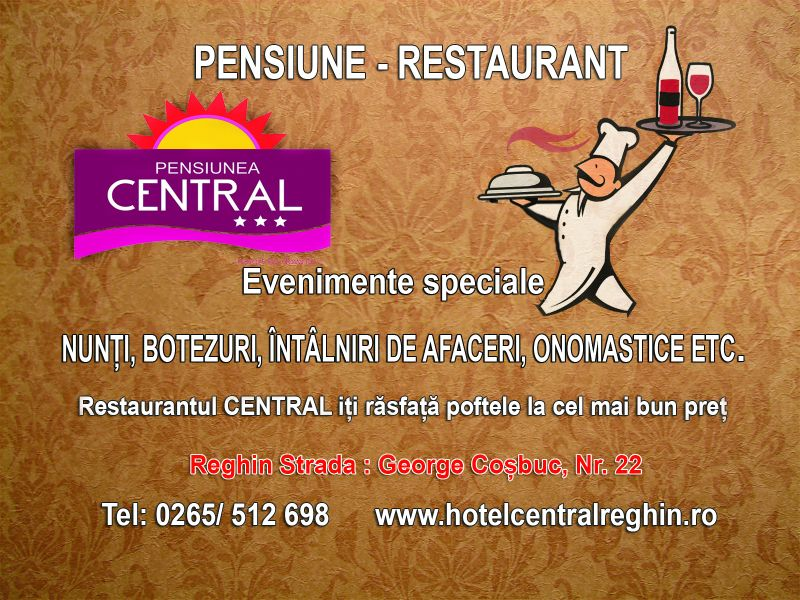 central restaurant evenimente