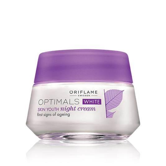 Optimals White Skin Youth Night Cream Pakistan
