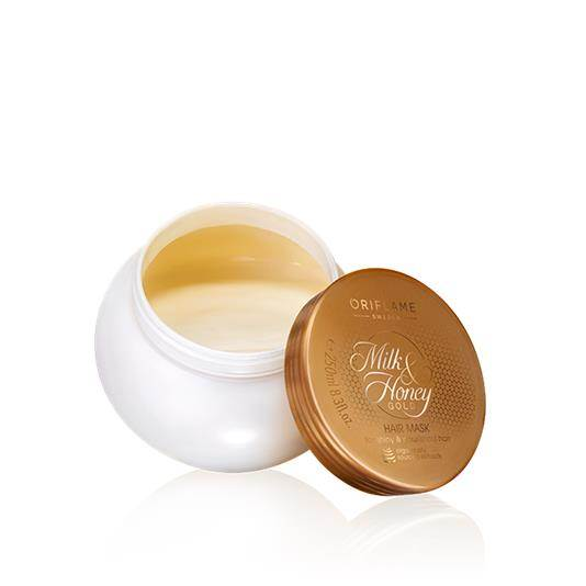 Oriflame Milk & Honey Gold Hair Mask Pakistan