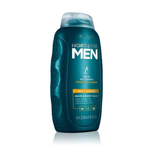 Oriflame North for Men Recharge Hair & Body Wash
