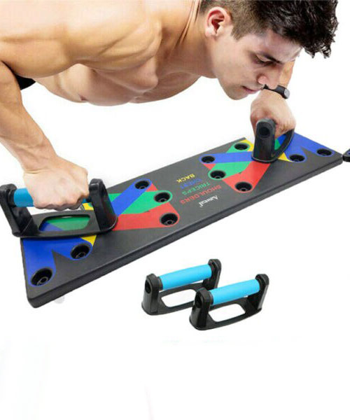 9 IN 1 Push Up Rack Board Pakistan