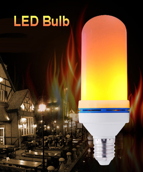 Flame Lamp E27 LED Fire Effect Bulb Pakistan