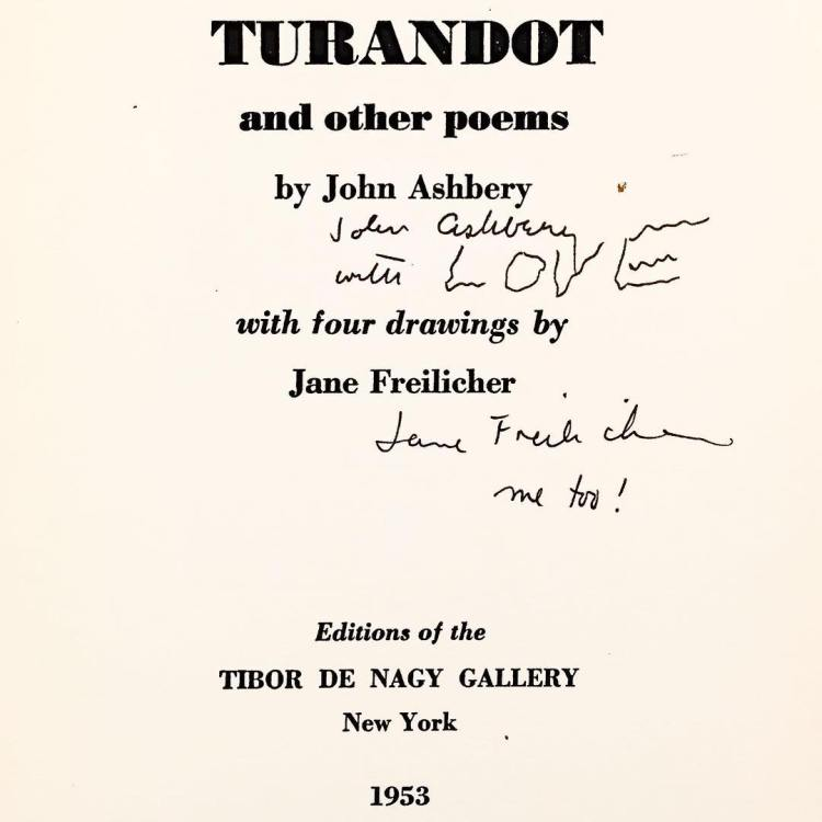 Turandot and Other Poems, 1953