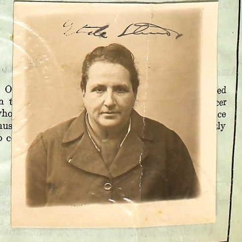 Gertrude Stein Passport 1918