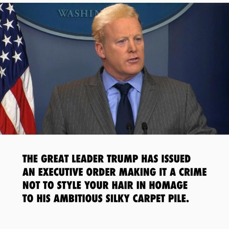 Thanks for leading by example Spicer.