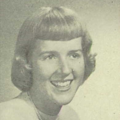 Joanne Kyger, Santa Barbara High, 1951