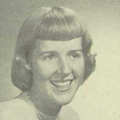 Joanne Kyger, Santa Barbara High, 1951