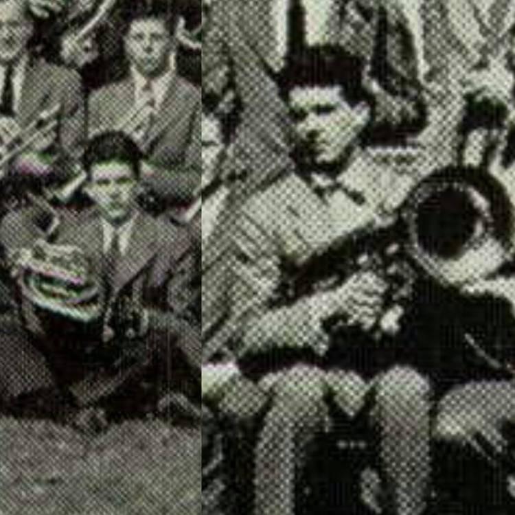 Harry Mathews, Groton Band, 1943, 1945