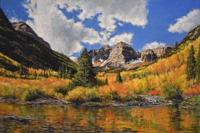 """Autumn Splendor"" 24"" x 36"" oil on canvas"
