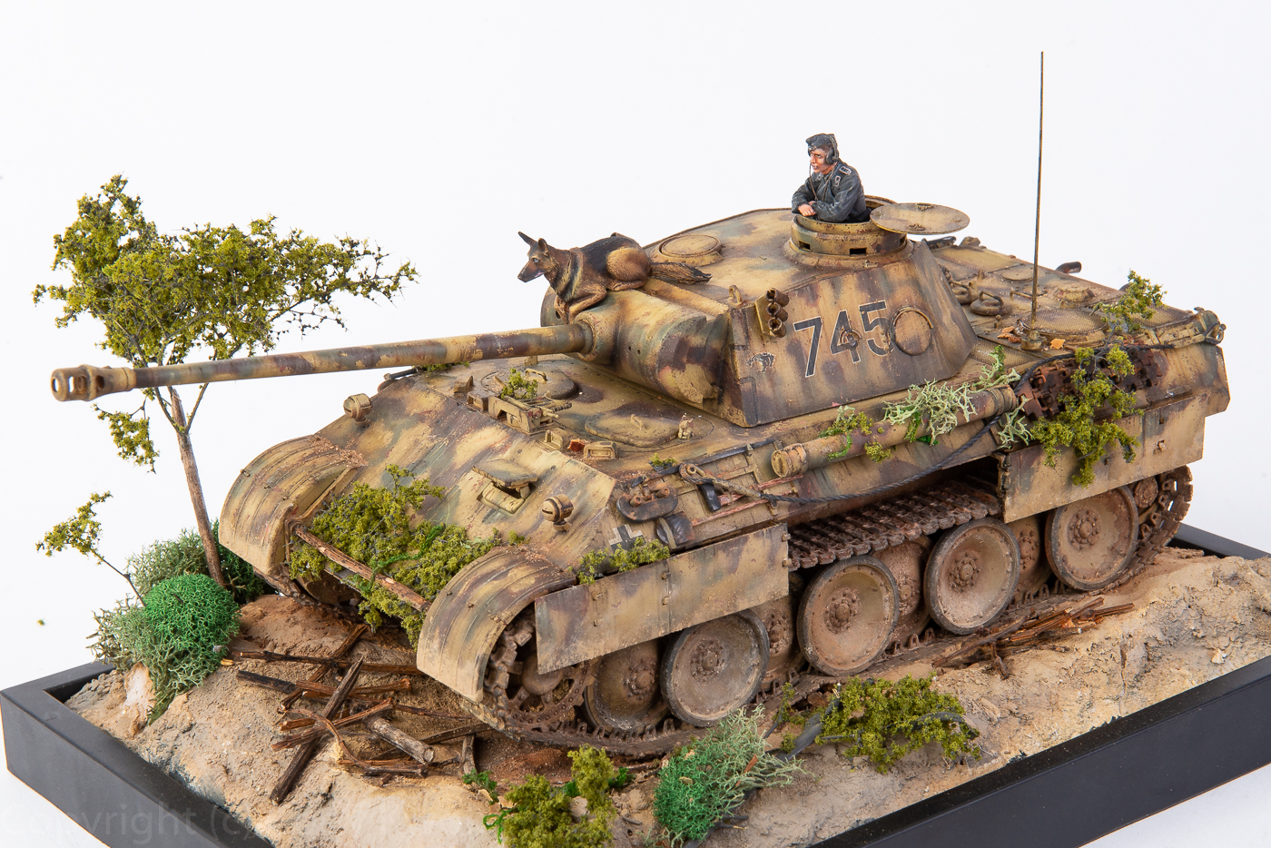 Panther ausf  D 1/35 from Tamiya | Cod T Modeling