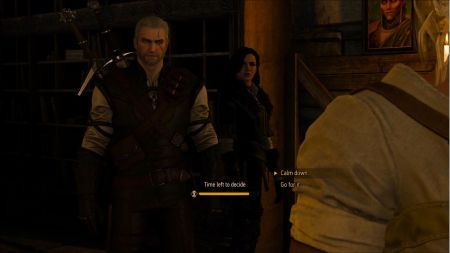 An example of a story beat from The Witcher 3: Wild Hunt.