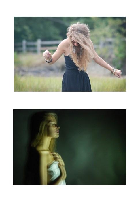 Noir Veil and Withdrawn by Gabrielle Turgeoon - Digital Photographs