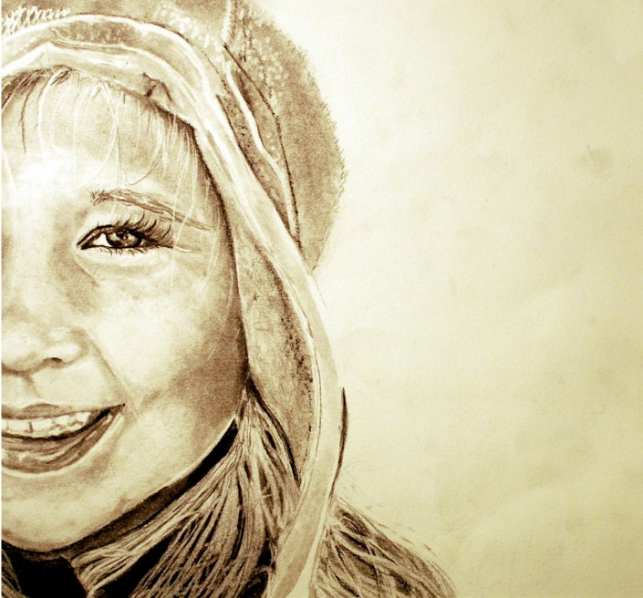 Marley by Allison DeFlumeri - Graphite on Paper