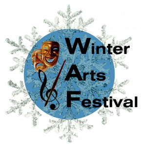 Winter Arts Festival logo designed by Madelyn Dalliare