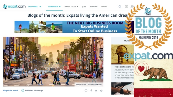 Expat Blog of February