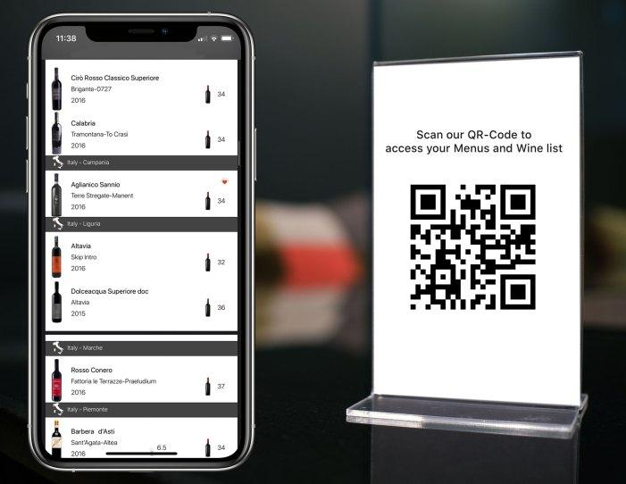Scan QRCode restaurant menus
