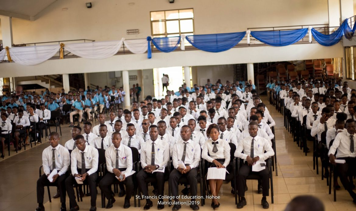 ST. FRANCIS COLLEGE OF EDUCATION MATRICULATES 351 TRAINEE TEACHERS