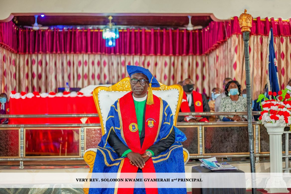 Investiture & Induction of Very Rev. Solomon Kwame Gyamerah as 2nd Principal of Methodist College of Education, Akyem Asene-Aboabo, Oda