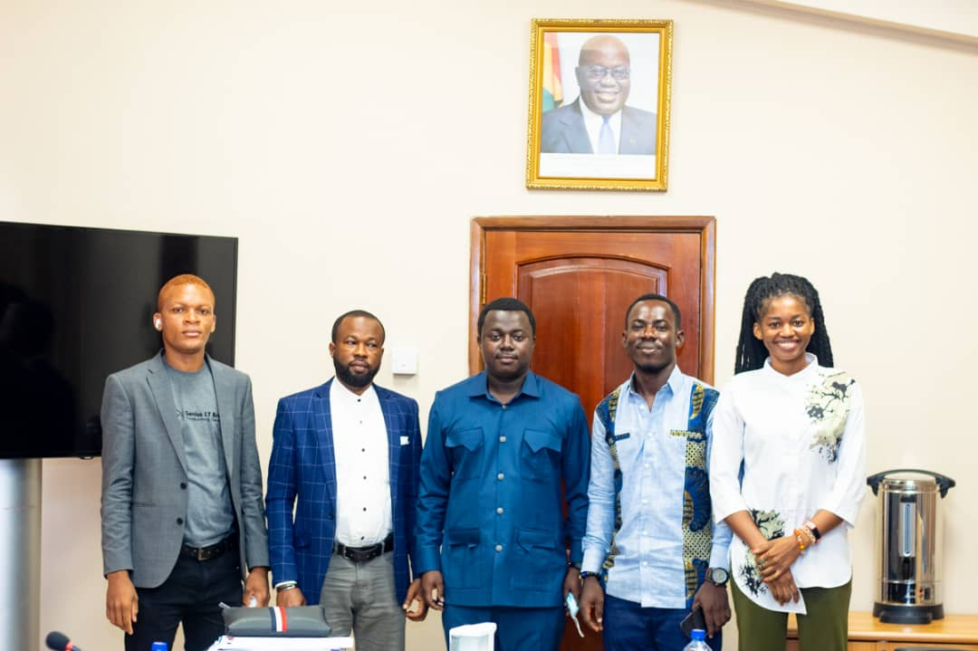 Officials at the Ministry of Education meet Management of the Colleges of Education Weekly Journal (CoEWJ)