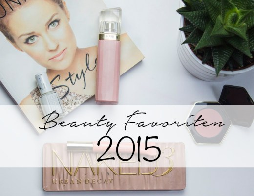 Beauty Favoriten 2015 Beitragsbild coeurdelisa