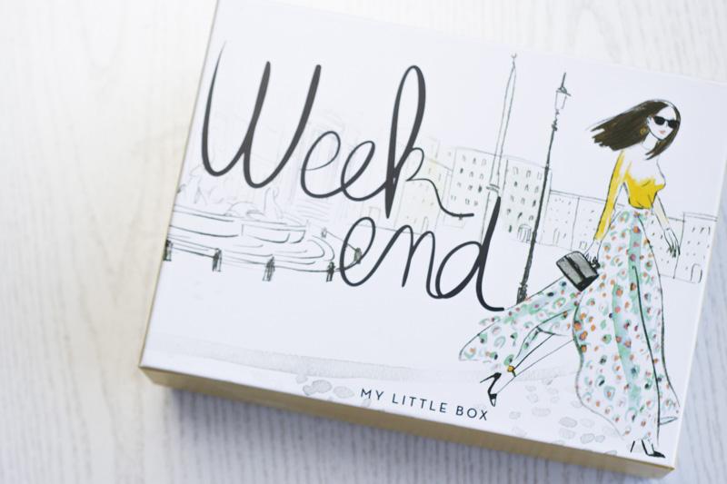 My Little Box Weekend title - coeurdelisa