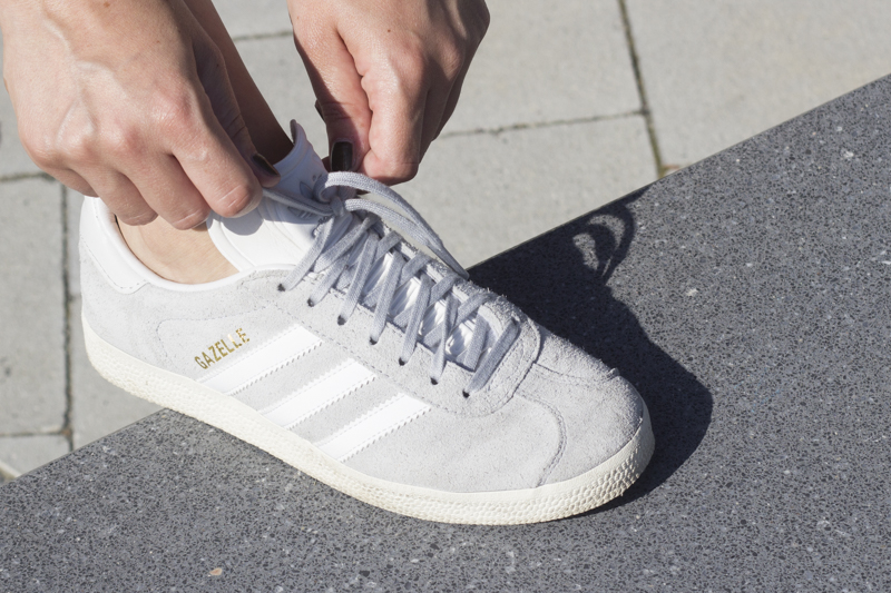 Outfit Adidas Gazelles titel - coeurdelisa