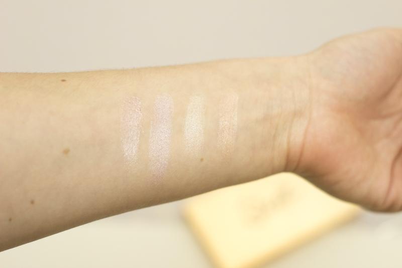 Sleek Highlighting Palette - Swatches - coeurdelisa