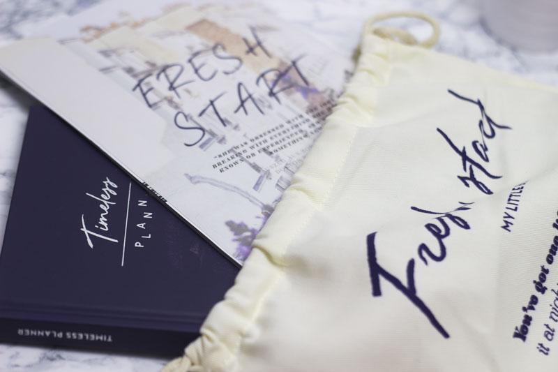 My Little Fresh Start Box - My little Box Januar 2017 - Titel