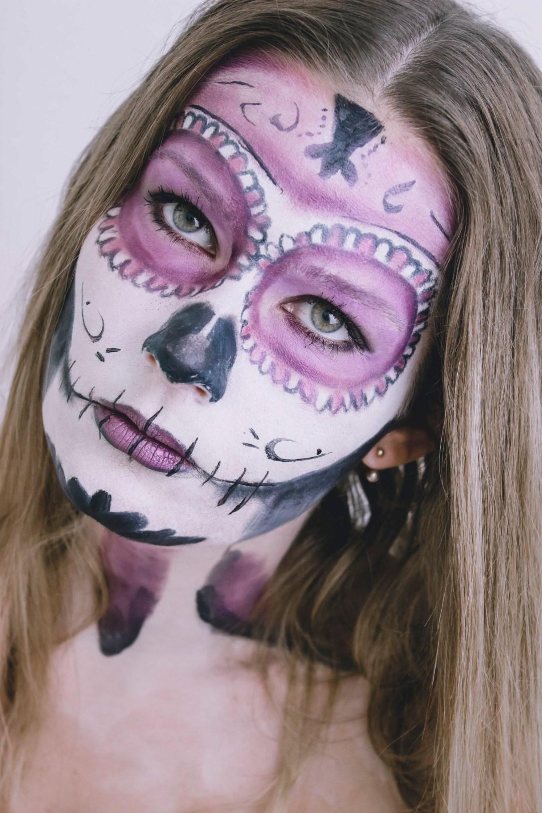 Sugar Skull Nachgeschminkt