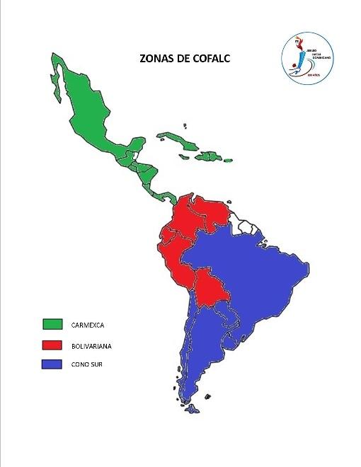 Zonas COFALC sm