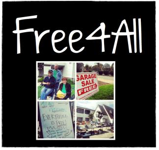 Bi-monthly Free Community Garage Sale