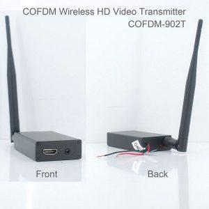 COFDM HD Wireless composite Video Transmitter 1080P CVBS SD 720P