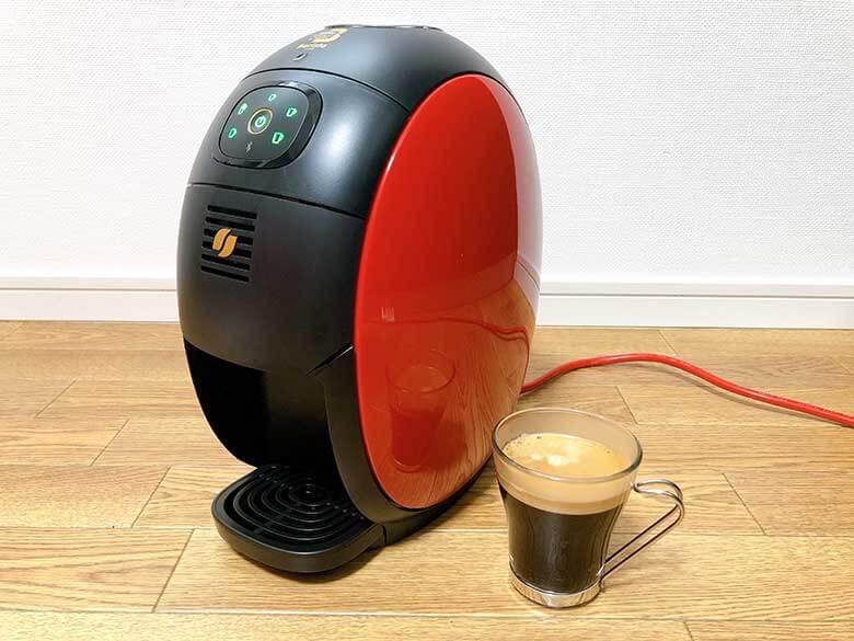 ブラックコーヒーが完成